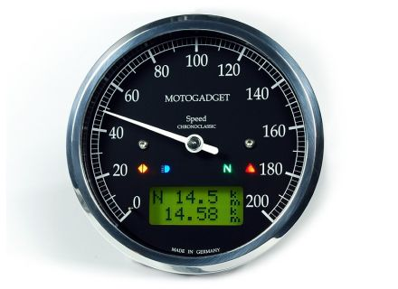 Multifunktionsinstrument Motogadget Chronoclassic Speedo